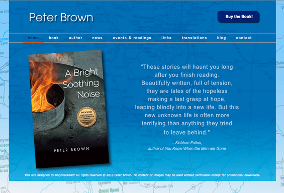 Peter Brown Fiction Website
